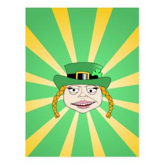 Leprechaun de la señora postal