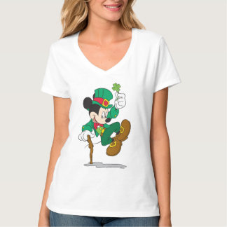Leprechaun de Mickey el   del día de fiesta Camisas