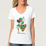 Leprechaun de Mickey el | del día de fiesta Playera