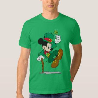 Leprechaun de Mickey el   del día de fiesta Playera