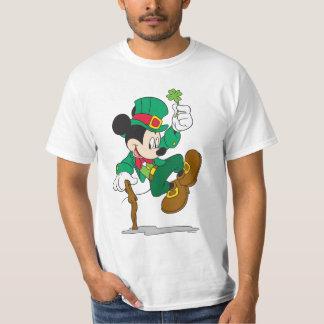 Leprechaun de Mickey el   del día de fiesta Poleras