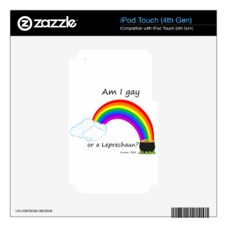 leprechaun decals for iPod touch 4G