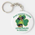 Leprechaun del Dachshund Llavero Personalizado