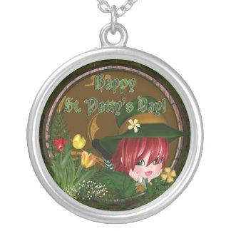 Leprechaun del día de St Patrick Pendientes Personalizados