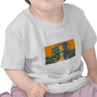 Leprechaun del vintage camiseta