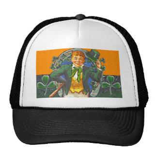 Leprechaun del vintage gorras