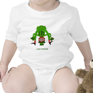 Leprechaun divertido traje de bebé