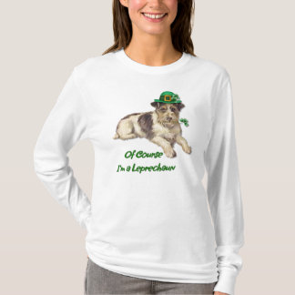 Leprechaun Dog T-Shirt
