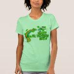Leprechaun feliz del día del St Patricks Camiseta