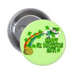 Leprechaun feliz del día del St Patricks Pins