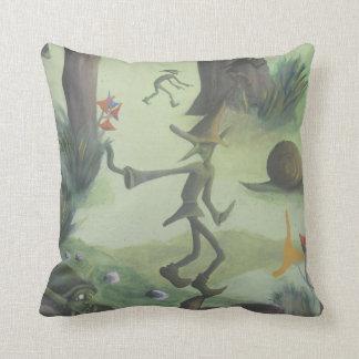leprechaun forest pillow