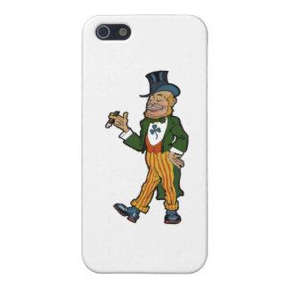 Leprechaun Gentleman iPhone SE/5/5s Cover