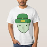 Leprechaun Green Colored Sketch Meme T-Shirt