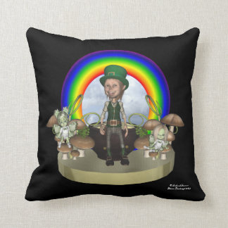 Leprechaun GreenieBabies American MoJo Pillow