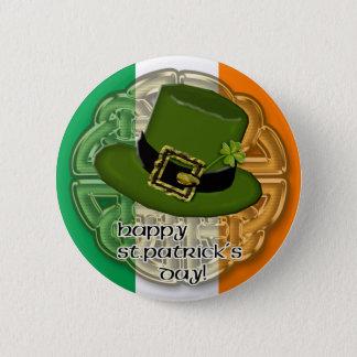 leprechaun hat button