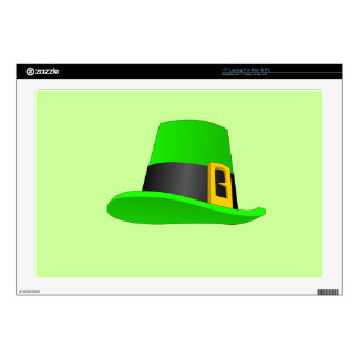 Leprechaun Hat With Buckle Decal For Laptop