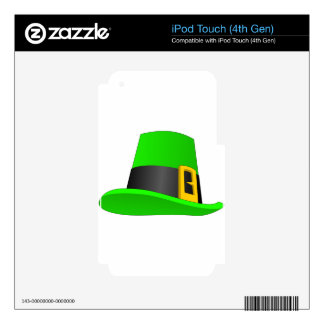 Leprechaun Hat With Buckle iPod Touch 4G Skins
