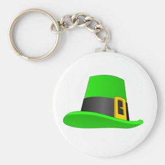 Leprechaun Hat With Buckle Keychain