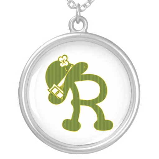 Leprechaun Hats R Custom Necklace