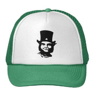 Leprechaun icónico gorras de camionero