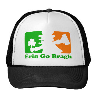 Leprechaun Insignia: Erin Go Bragh Trucker Hat