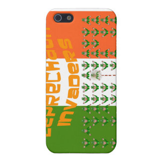 Leprechaun Invaders.  Happy St. Patrick's Day iPhone SE/5/5s Cover