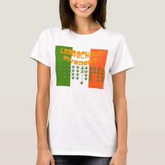 Leprechaun Invaders.  Happy St. Patrick's Day T-Shirt