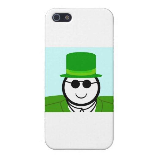 Leprechaun iPhone 5 Cárcasas