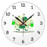 Leprechaun irlandés relojes