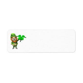 Leprechaun Return Address Label