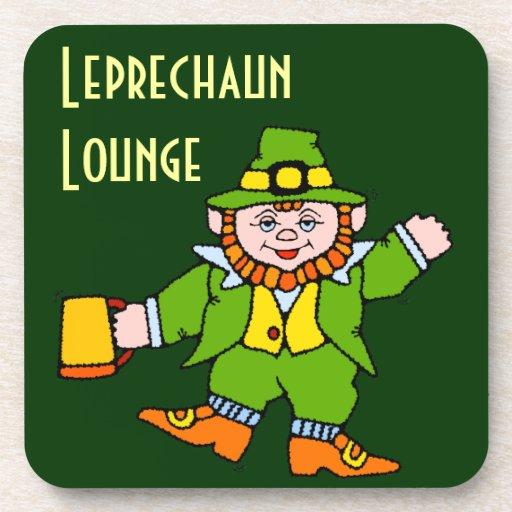 Leprechaun Lounge Bar Drink Tavern Cork Coasters