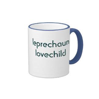 leprechaun lovechild ringer coffee mug