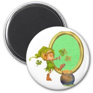 Leprechaun Luck Magnet