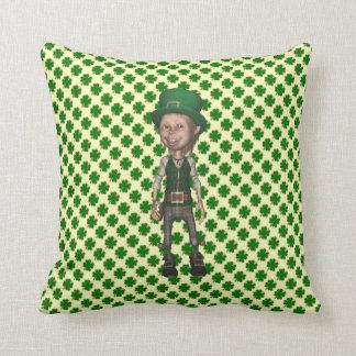 Leprechaun Lucky Charms American MoJo Pillow