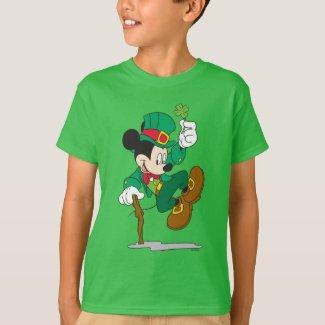 Leprechaun Mickey Mouse | St. Patrick's Day T-Shirt