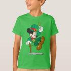 Leprechaun Mickey Mouse   St. Patrick's Day T-Shirt