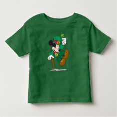 Leprechaun Mickey Mouse | St. Patrick's Day Toddler T-shirt at Zazzle