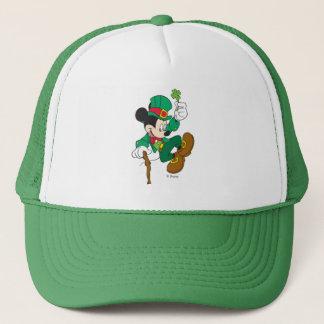 Leprechaun Mickey Mouse | St. Patrick's Day Trucker Hat