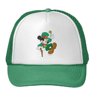 Leprechaun Mickey Mouse | St. Patrick's Day Trucker Hat