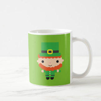Leprechaun Mug Basic White Mug