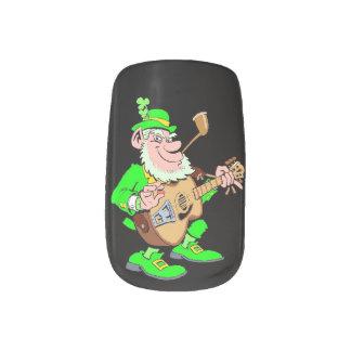 Leprechaun Musician Minx® Nail Art
