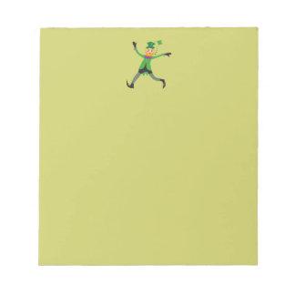 Leprechaun Notepad