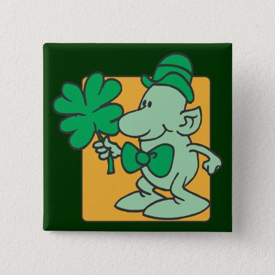 Leprechaun Pinback Button