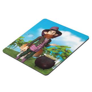 Leprechaun Puzzle Coaster