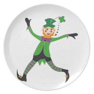 Leprechaun Plate