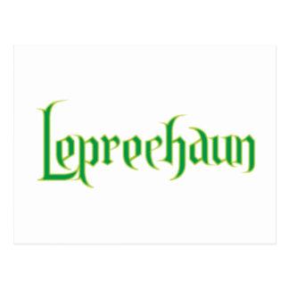 Leprechaun Post Card