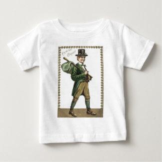 Leprechaun Shamrock Hobo Bindle Baby T-Shirt