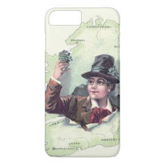 Leprechaun Shamrock Ireland Island iPhone 7 Plus Case