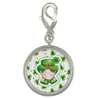 Leprechaun Silver Charm