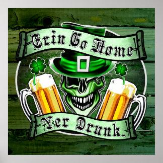 Leprechaun Skull 2: Erin Go Home Yer Drunk Poster